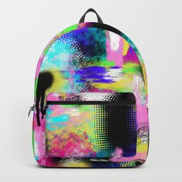Neon Chaos Backpack