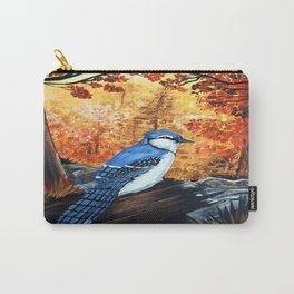 Blue Jay Life Carry-All Pouch