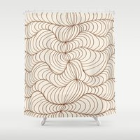 illusion Shower Curtains featuring Illusion by Susann Mielke