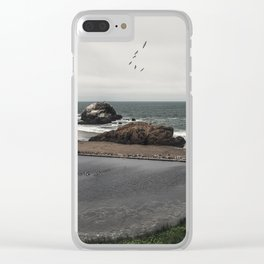 Sutro Baths Ruins Clear iPhone Case