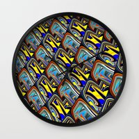 scales Wall Clocks featuring Scales by David  Gough
