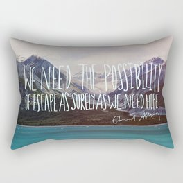 Escape x Alaska Rectangular Pillow