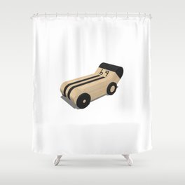Bolide Shower Curtain