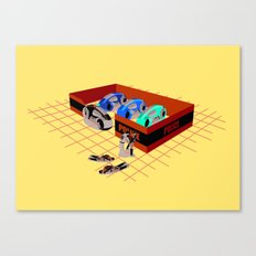 END OF LINE Canvas Print