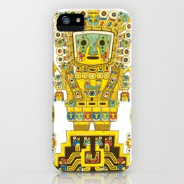 Viracocha Color iPhone Case