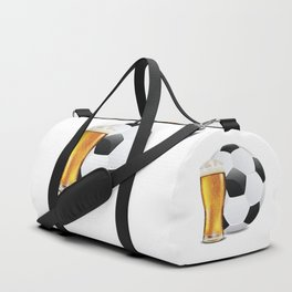 Beer and Soccer Ball Duffle Bag