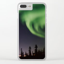 Auroras I Clear iPhone Case