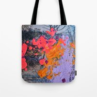 new jersey Tote Bags featuring New Jersey by Aniko Gajdocsi