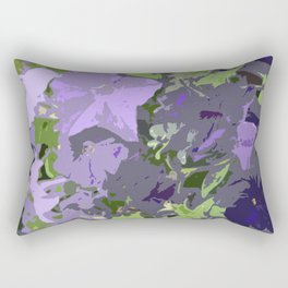 Floral abstractions I Rectangular Pillow