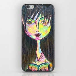 Soul of A Gypsy, Heart of A Hippie, Spirit of A Fairy iPhone Skin