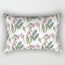 Australian eucalyptus tree branch Rectangular Pillow