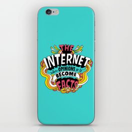 The Internet. iPhone Skin