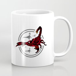 Red Scorpion 2 Coffee Mug