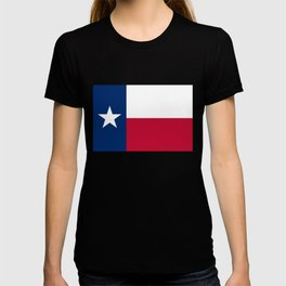 Texas state flag, High Quality Authentic Version T-shirt