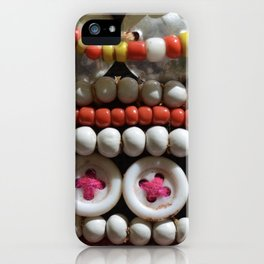 Buttons and Beads iPhone Case