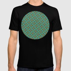 Thorny Pattern MEDIUM Mens Fitted Tee Black