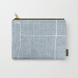 Tempe Map, USA - Slate Carry-All Pouch