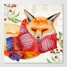 Winter animal #3 Canvas Print