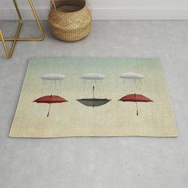 the umbrella filleth Rug