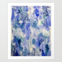 aqua Art Print