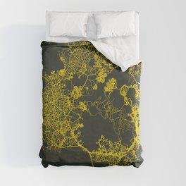 Physarum Polycephalum Duvet Cover