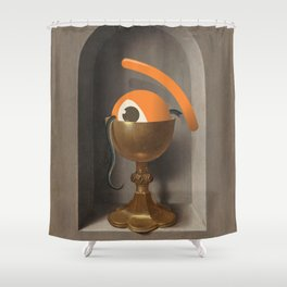 chalice of saint ojolo Shower Curtain
