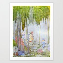 Little Tom Thumb II Art Print