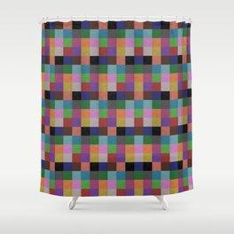 Colour Clay Shower Curtain