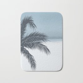 Palm and Ocean Bath Mat