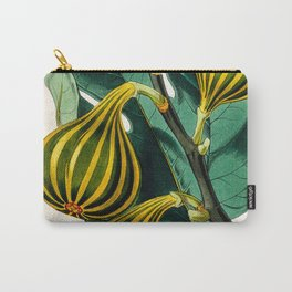 Fig plant, vintage illustration Carry-All Pouch