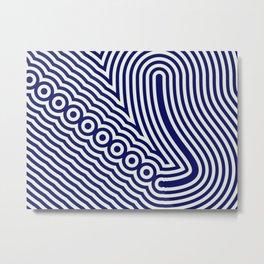 Intricate marine design Metal Print