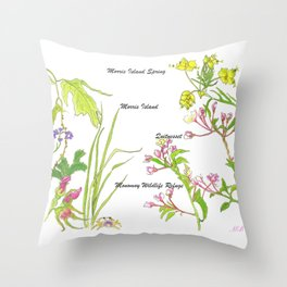 Chatham Spring Morris Island Throw Pillow