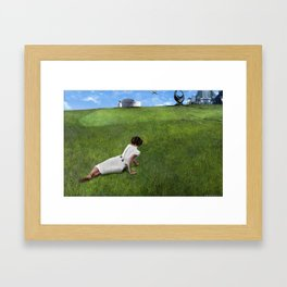 Leia's World Framed Art Print