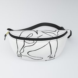 Pablo Picasso Le Acrobat, 1930, Artwork Reproduction, Tshirts, Prints, Posters For Men, Women, Youth Fanny Pack
