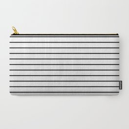 Minimalist Stripes Carry-All Pouch