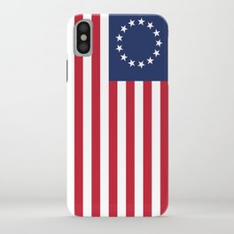 Betsy Ross USA flag iPhone Case