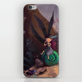 Pixie forest concert iPhone Skin