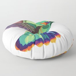 Humming(bird) Everywhere Floor Pillow