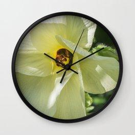 Okra Wall Clock