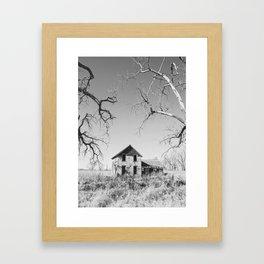 Abandoned: South Dakota 9839 Framed Art Print