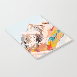 glass mountains Notebook