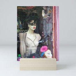 The Nineteen Fifties Look in the Village Mini Art Print