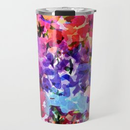 Jelly Bean Wildflowers Travel Mug