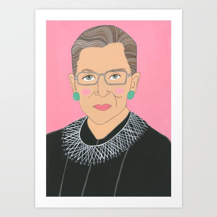 Ruth Bader Ginsberg Kunstdrucke