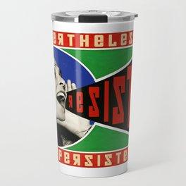 Alexandria Ocasio-Cortez Resist Travel Mug