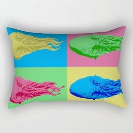 Doctor Who: Ood on LSD Rectangular Pillow
