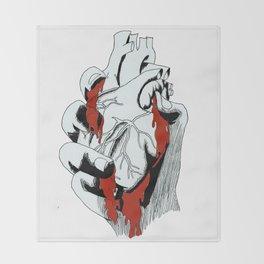 Bleeding Heart Throw Blanket