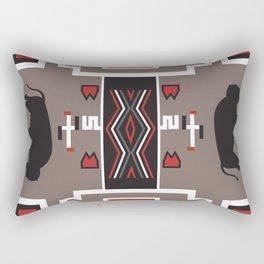 American Native Pattern No. 161 Rectangular Pillow