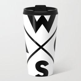 WOSA - World of Street Art Metal Travel Mug