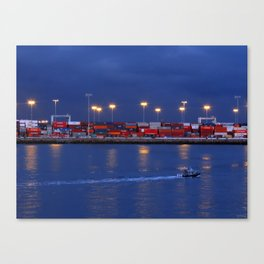 Urban Boxes Canvas Print